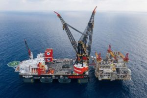 GALLERY: Heerema's crane vessel Sleipnir in record-breaking Leviathan lift